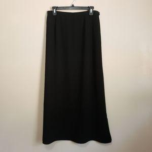 Harold's Black Skirt